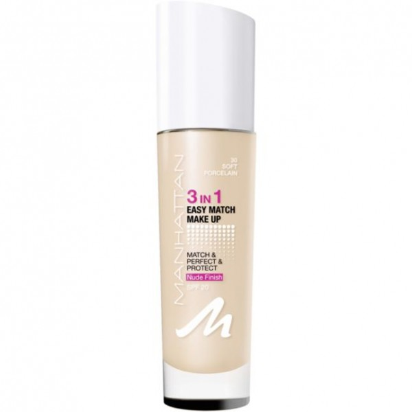 Manhattan 3in1 Easy Match Make Up 30